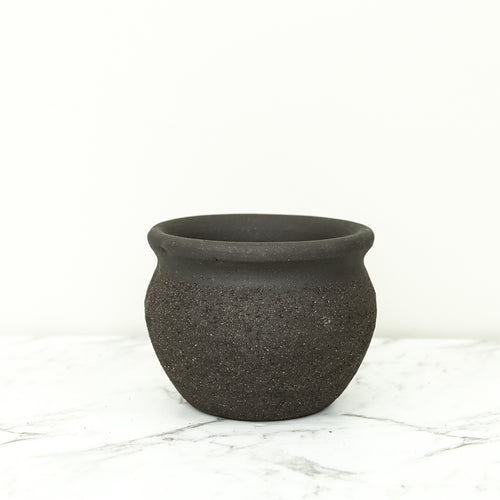 Cauldron handmade plant pot from Yama Collection