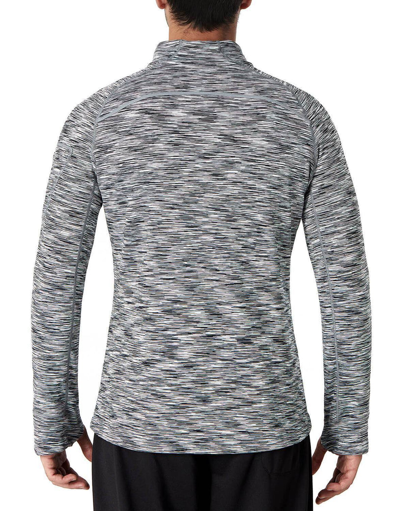 1/4 Zip Pullover Thermal Shirt-Naviskin