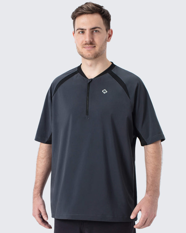 UPF 50+ Half Zip Short Sleeve Shirt