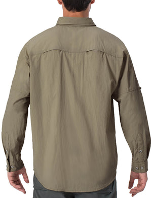New Colors! UPF 50+ Long Sleeve Fishing Shirt