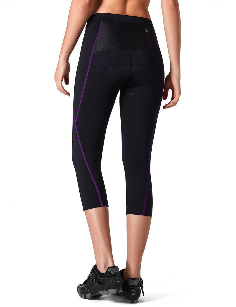 3D Padded 3/4 Cycling Tight-Naviskin