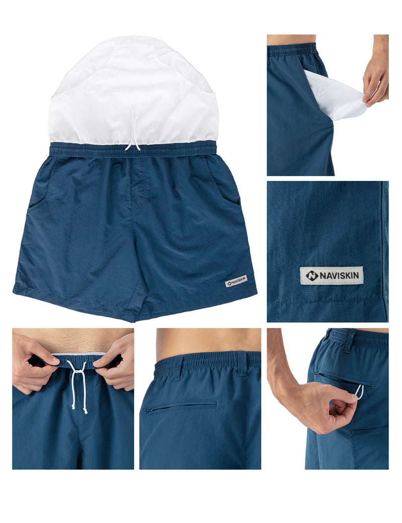 "6"" UPF 50+ Outdoor Shorts"
