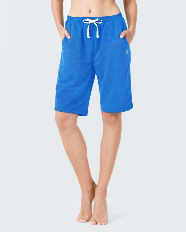 "7"" Active Bermuda Yoga Short-Naviskin"