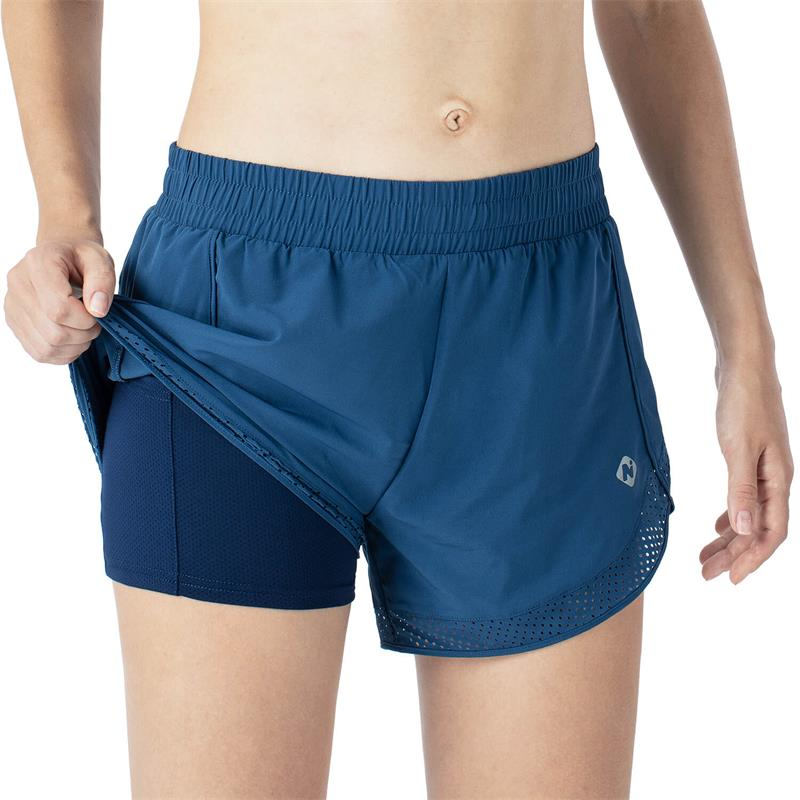 "4"" Double Layer Running Shorts"