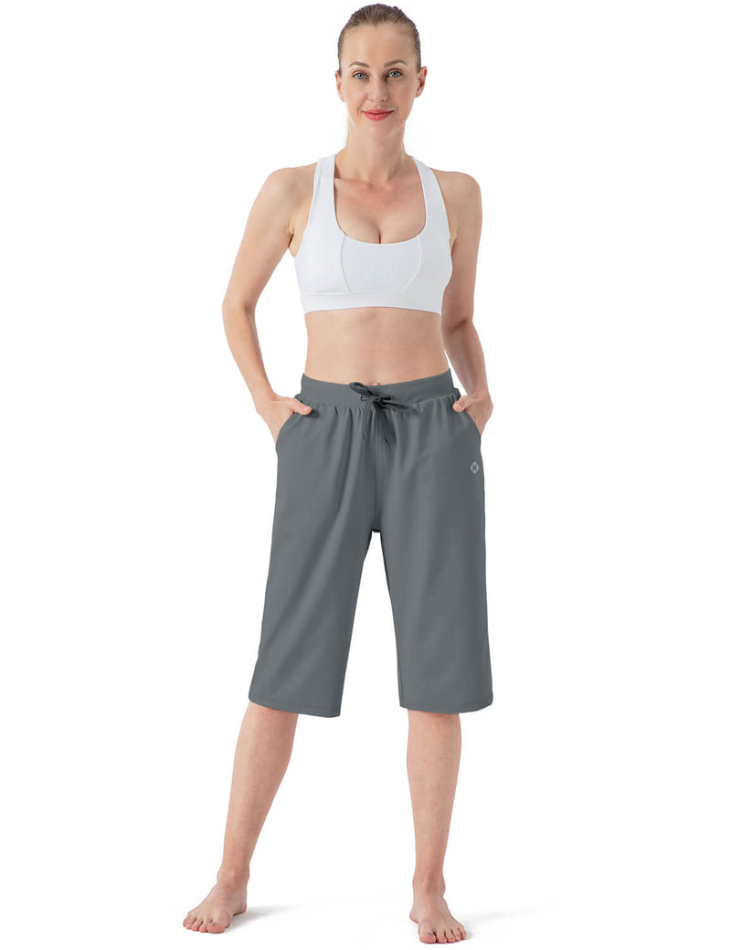 "14"" Capri Yoga Lounge Crop Pants"