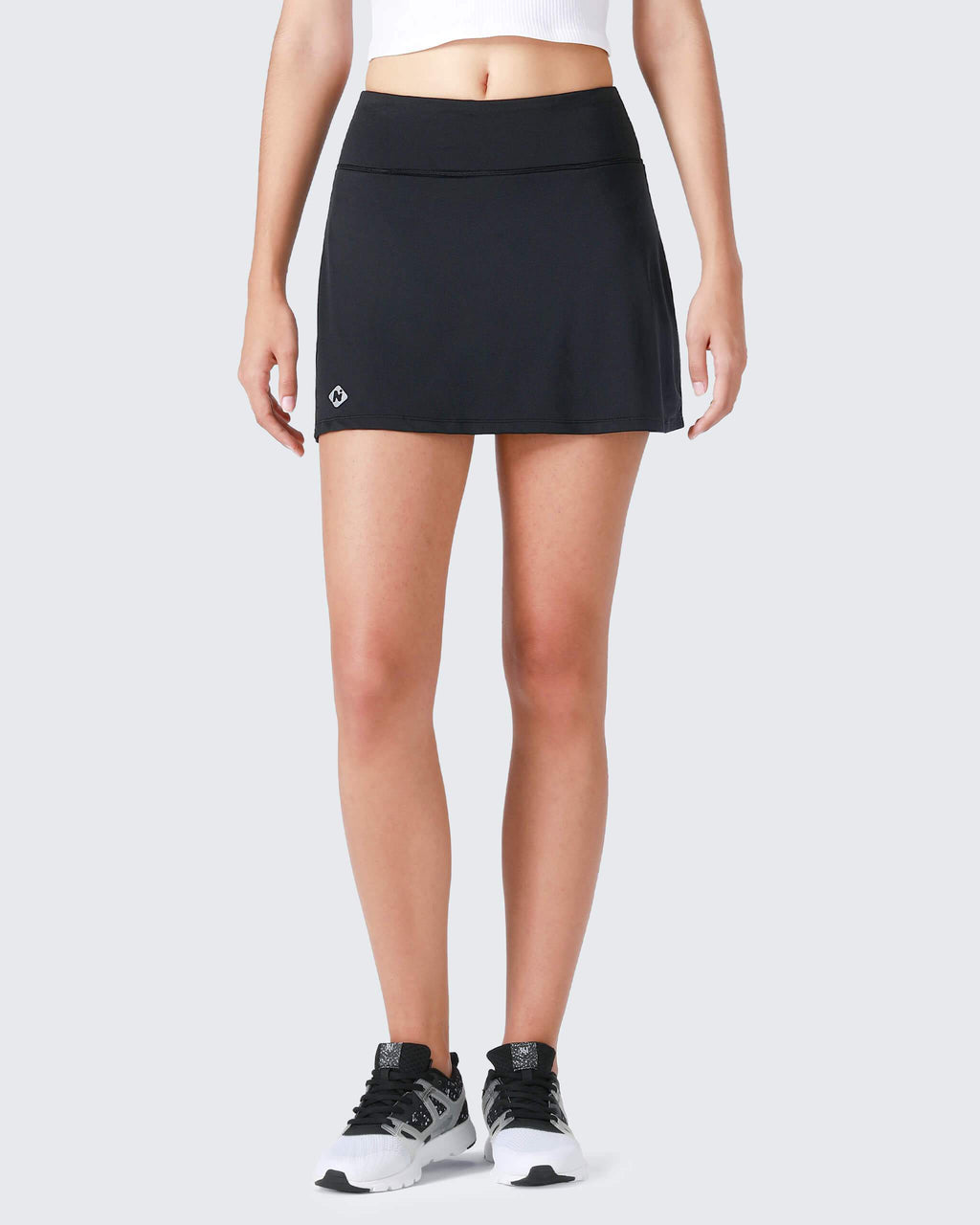 Active Skirt with Inner Pockets-Naviskin