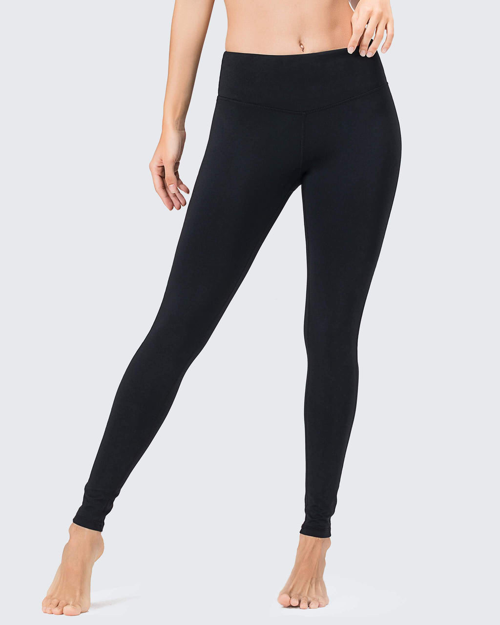 Fleece Lined Warm Yoga Legging-Naviskin