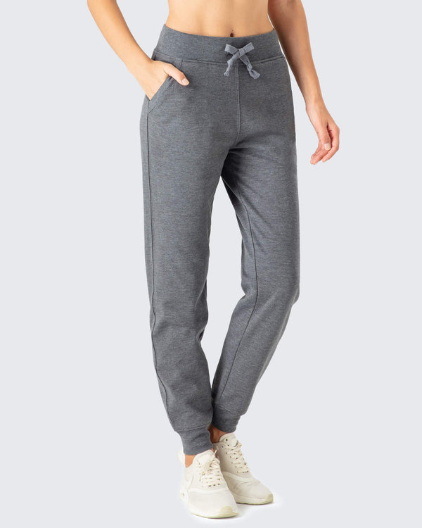 Fleece Thermal Skinny Sweat Pants-Naviskin