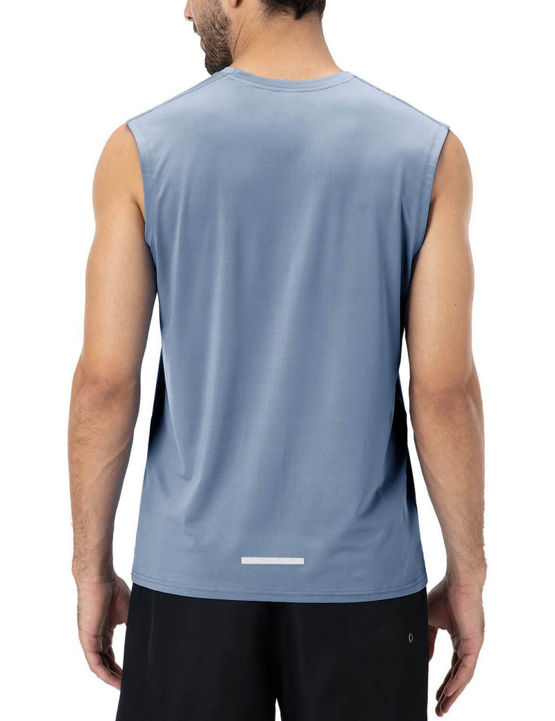 Gym Sleeveless Tank Tops-Naviskin