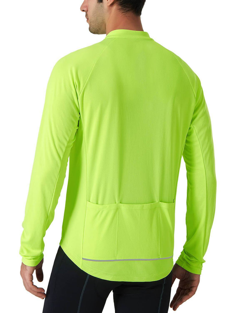Jersey Full Zip Cycling Shirt-Naviskin