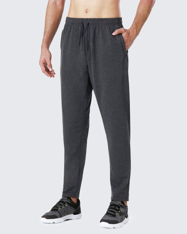 Running Pants with Zip Pockets-Naviskin