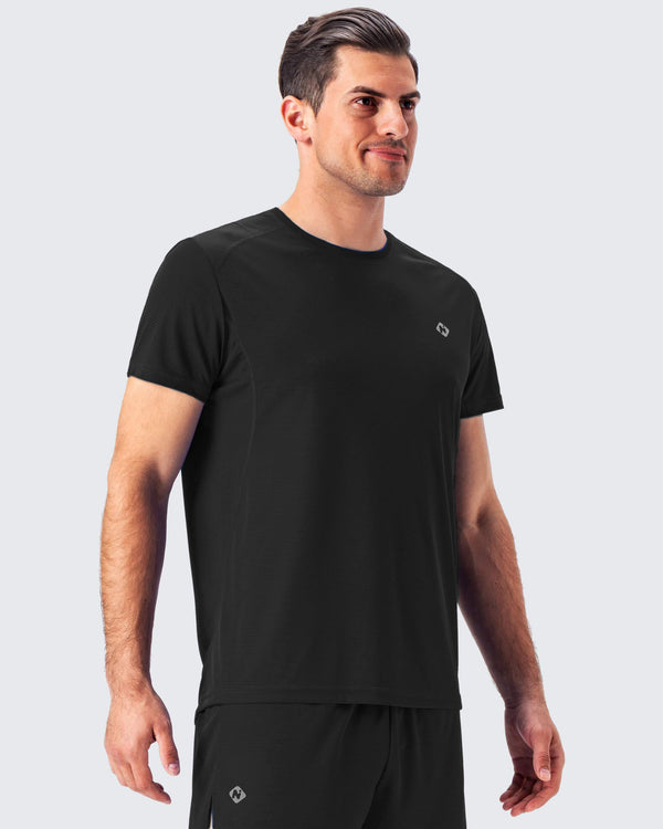 Short Sleeve Running Shirt-Naviskin