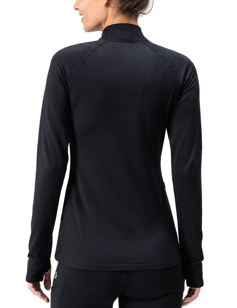 Thermal Fleece Half Zip Shirt-Naviskin