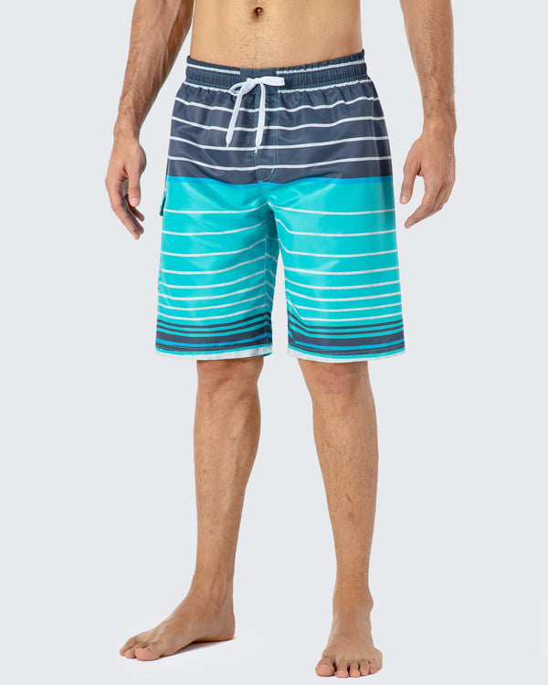 UPF 30+ Swim Trunk Short-Naviskin