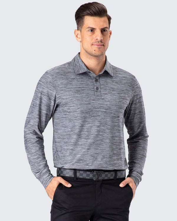 UPF 50+ Golf Polo Shirt-Naviskin