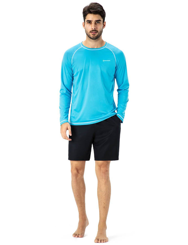 UPF 50+ Long Sleeve Rash Guard-Naviskin
