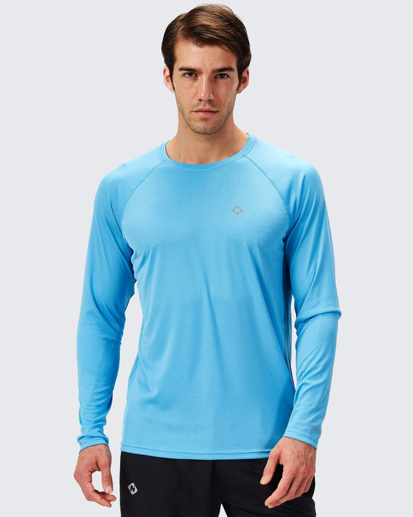 UPF 50+ Long Sleeve Shirt-Naviskin