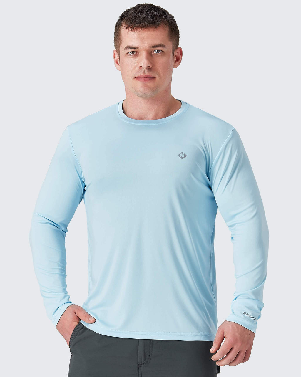 UPF 50+ Outdoor Long Sleeve Shirt-Naviskin
