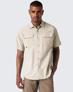 UPF 50+ Short Sleeve Fishing Shirt-Naviskin