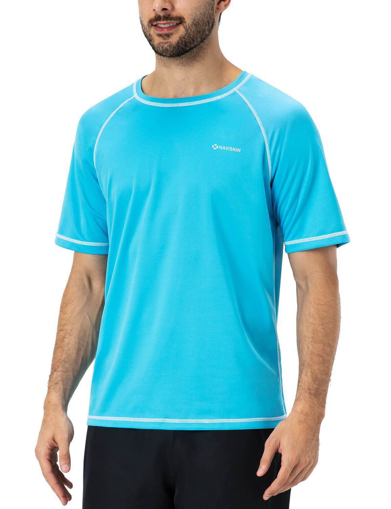 UPF 50+ Short Sleeve Rash Guard-Naviskin