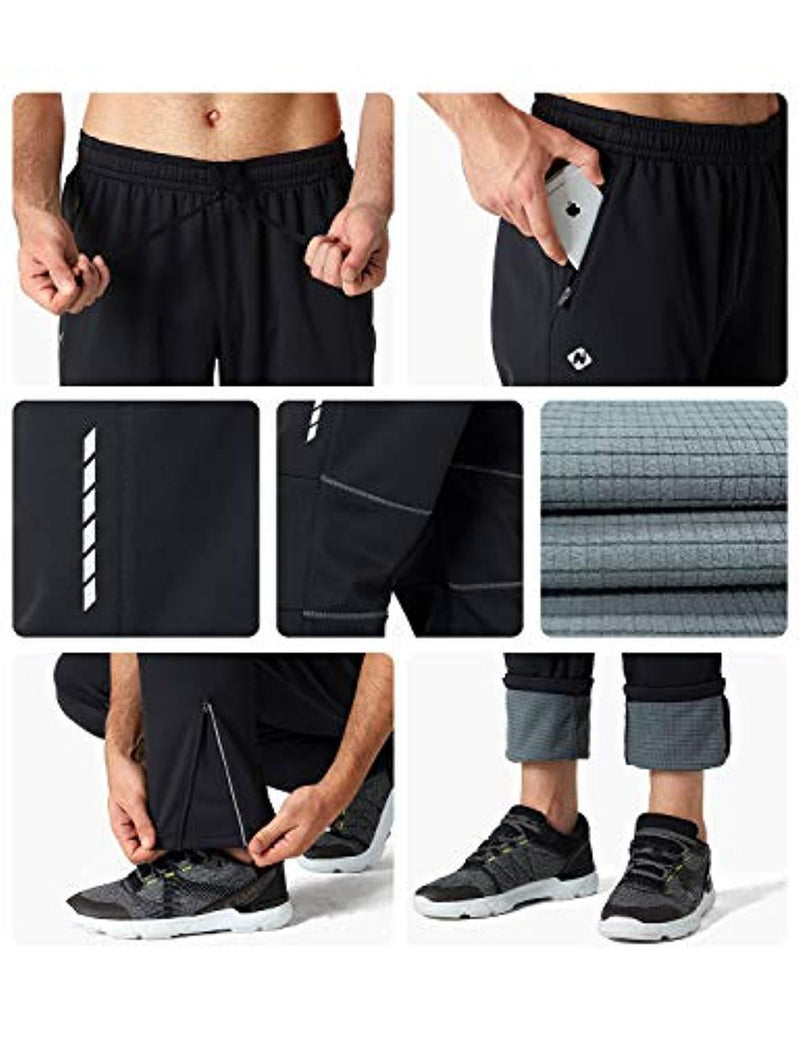Windproof Fleece Thermal Cycling Pants-Naviskin