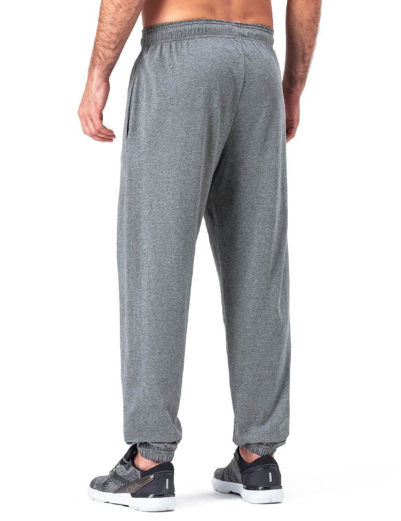 Workout Closed Bottom Sweatpants-Naviskin