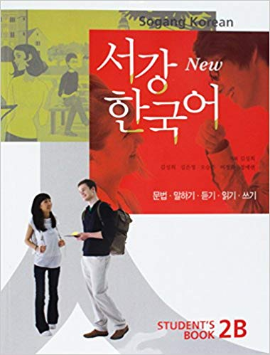 New Sogang Korean 2B Students Book