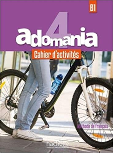 Adomania: Cahier dactivites 4 + CD-audio