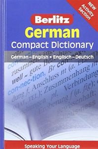 Berlitz Language: German Compact Dictionary (Berlitz Compact Dictionary)