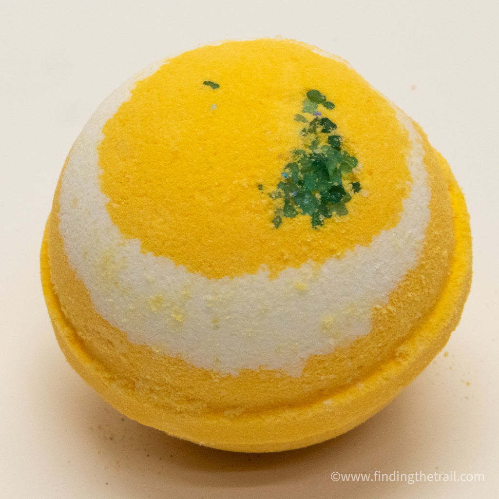 Lemongrass  Bath Bomb with Shea Butter
