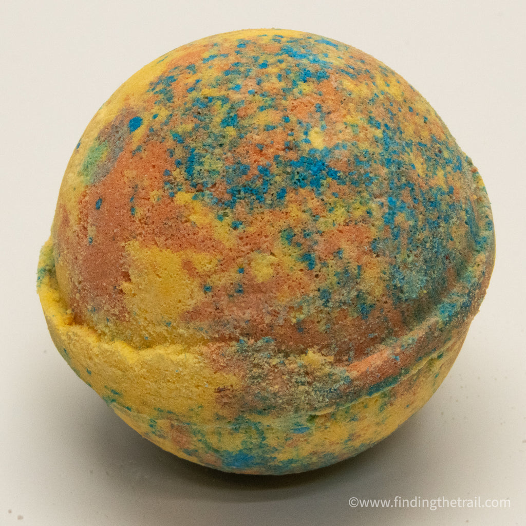 Tie Dye Patchouli Bath Bomb with Shea Butter