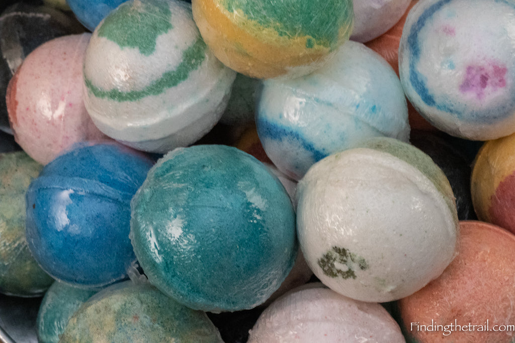 Ten Assorted Bath Bombs with Shea Butter