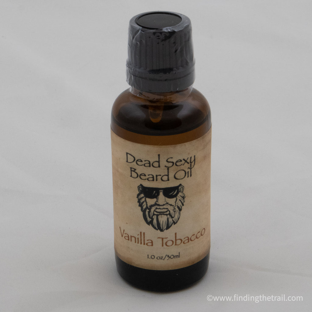 Vanilla Tobacco - Beard Oil Warm, Spicy Vanilla