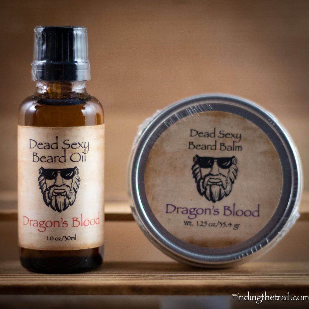 Dragon's Blood - Beard Oil & Balm Set