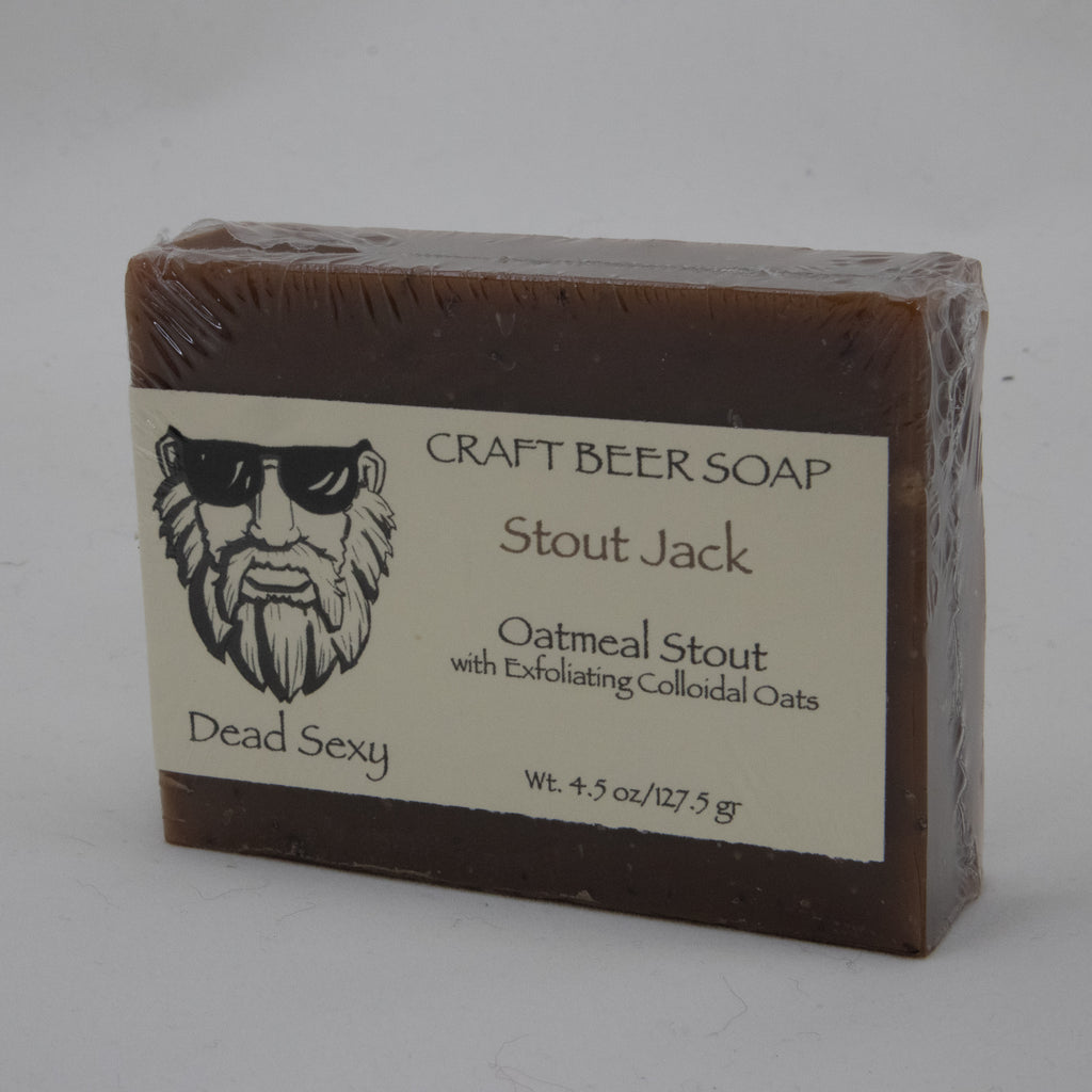Stout Jack Dead Sexy Craft Beer Soap