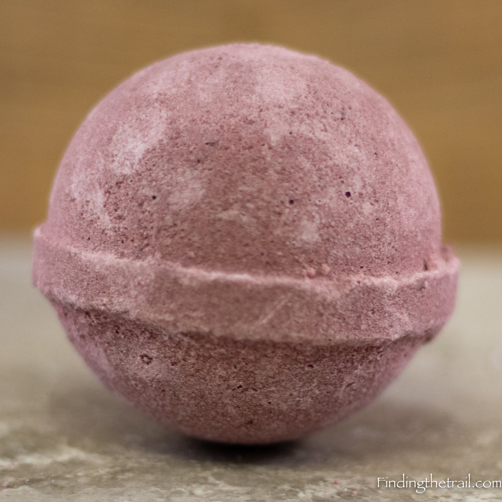 Dragon's Blood Bath Bomb with Shea Butter