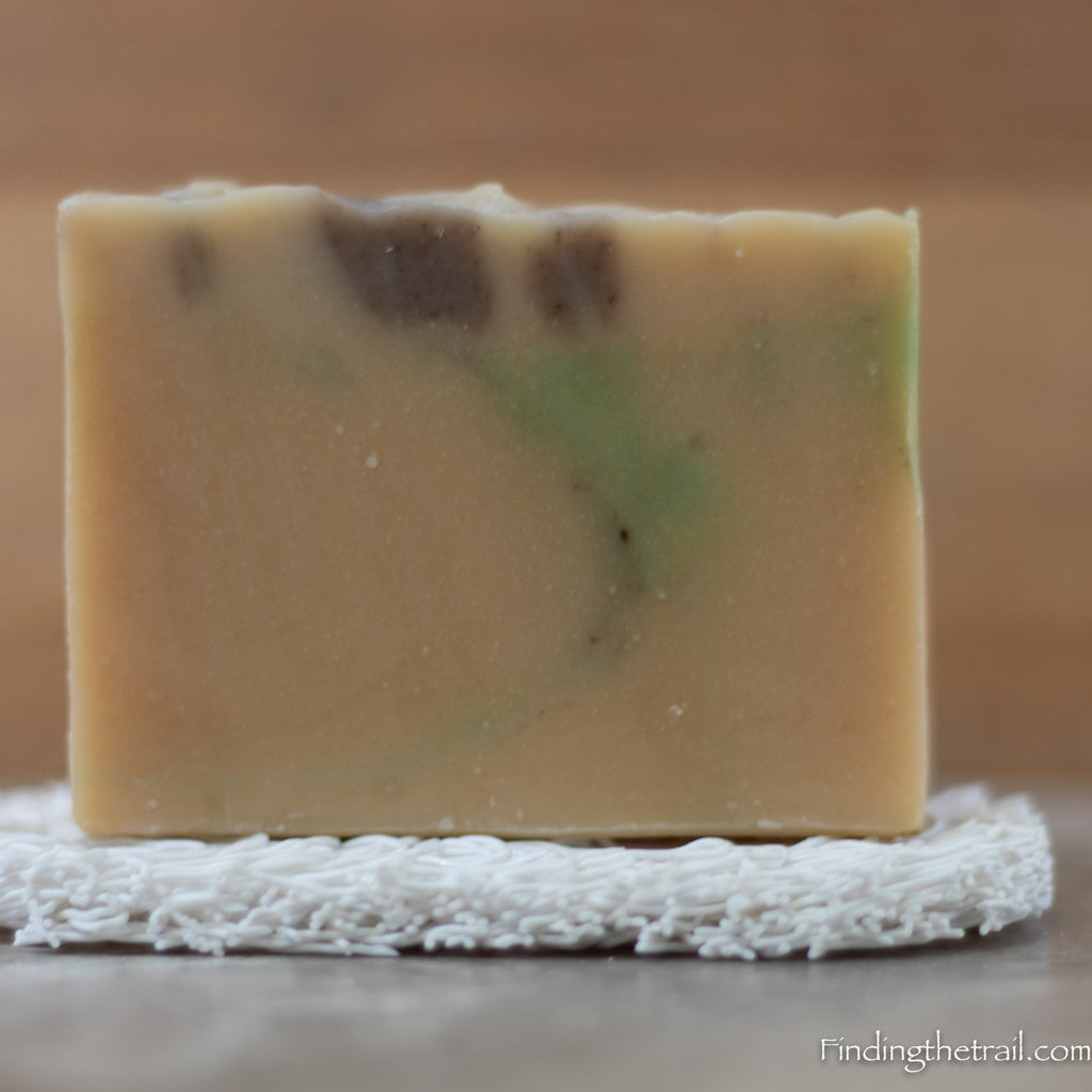 Lavender Eucalyptus Goatmilk Bar Soap with Lavender & Eucalyptus Essential Oils