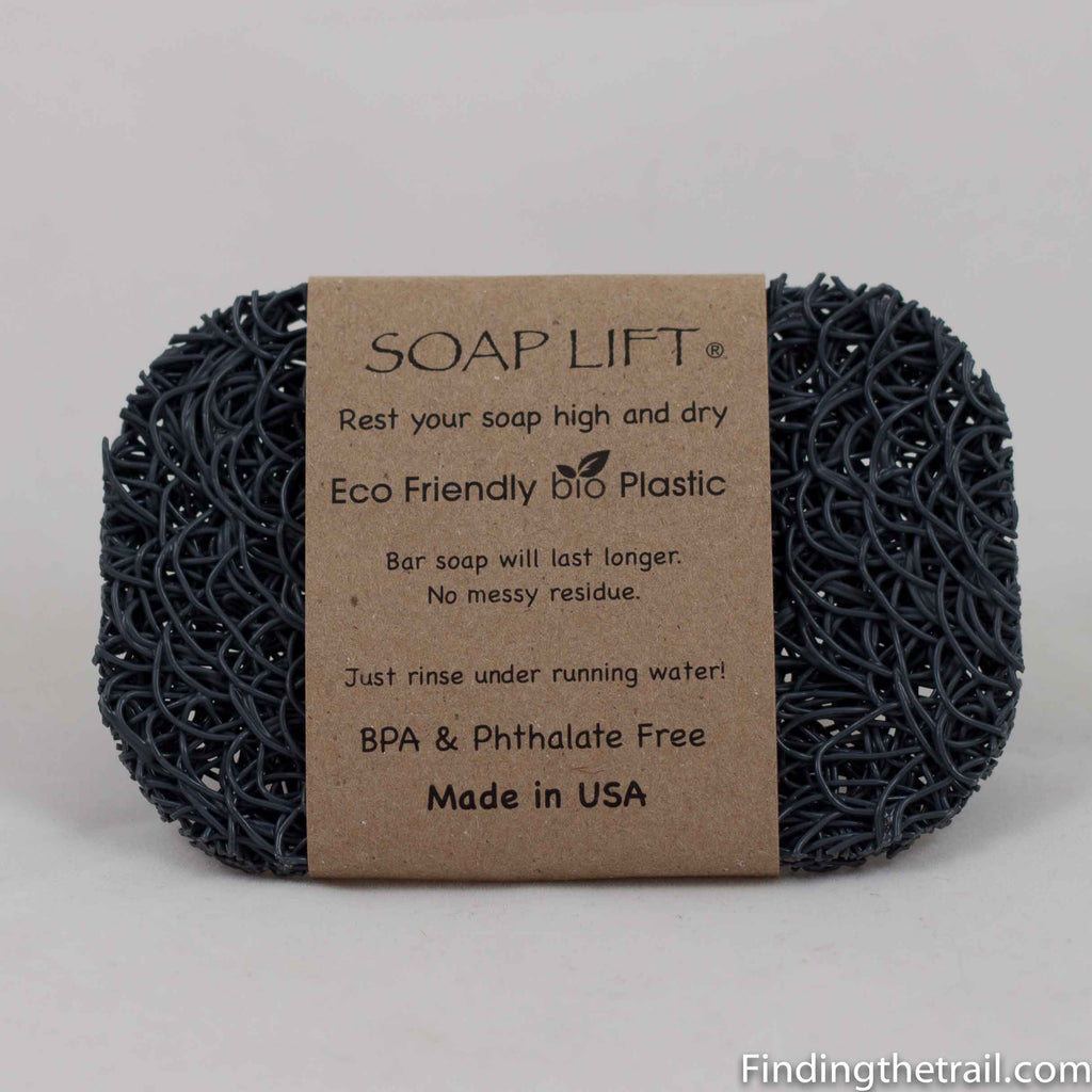 Gray Eco Friendly Bio Plastic Sea Lark Soap Lifts®