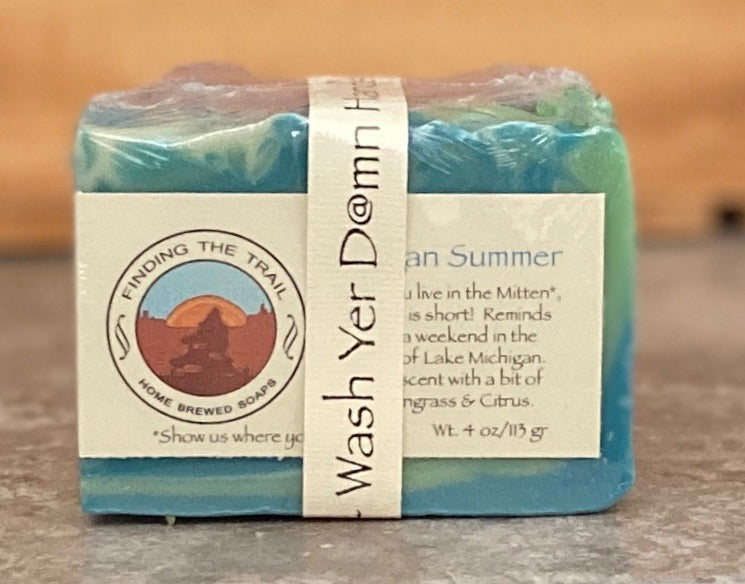 Wash Yer D@mn Hands - Quarantine Soap Two Pack