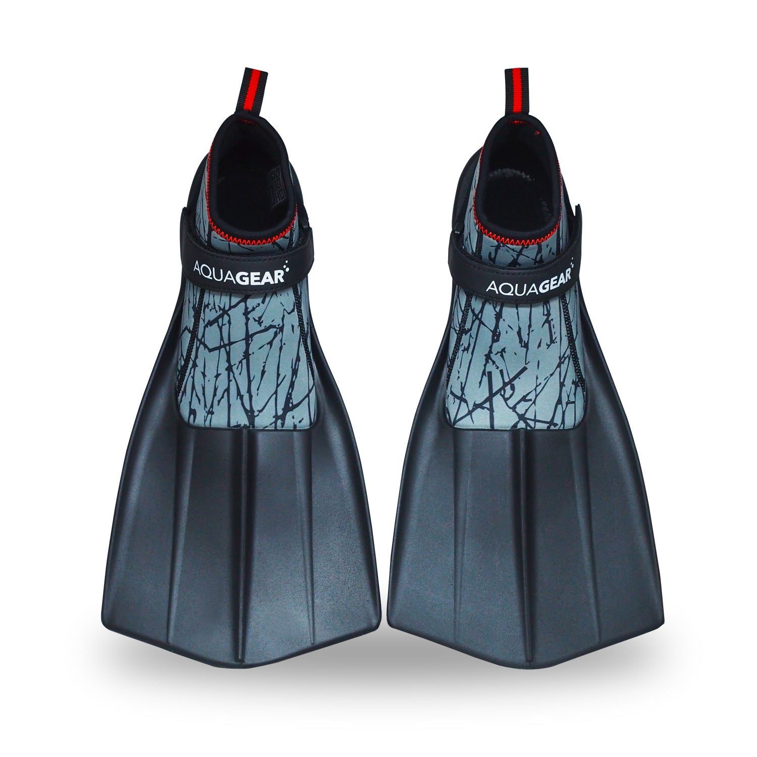 AquaFins - Walkable Snorkel Fins (Sand Grey)