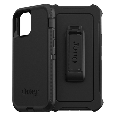 "OtterBox Defender Series Case For iPhone 12 / 12 Pro 6.1"" Black"