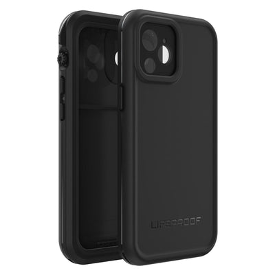 "LifeProof FRĒ Waterproof Case For iPhone 12 mini (5.4"") Black"