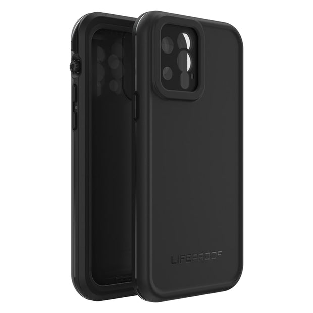"LifeProof FRĒ Waterproof Case For iPhone 12 Pro (6.1"") Black"