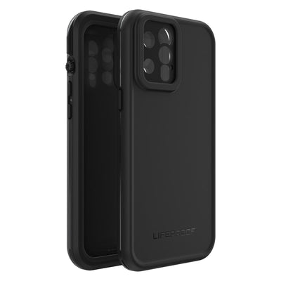 "LifeProof FRĒ Waterproof Case For iPhone 12 Pro Max (6.7"") Black"