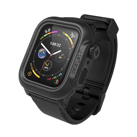 Catalyst Waterproof Case for Apple Watch Series 4 & 5 for 44mm - Stealth Black