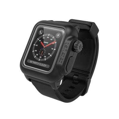 Catalyst Waterproof Case for Apple Watch Series 3/2 for 38mm - Stealth Black