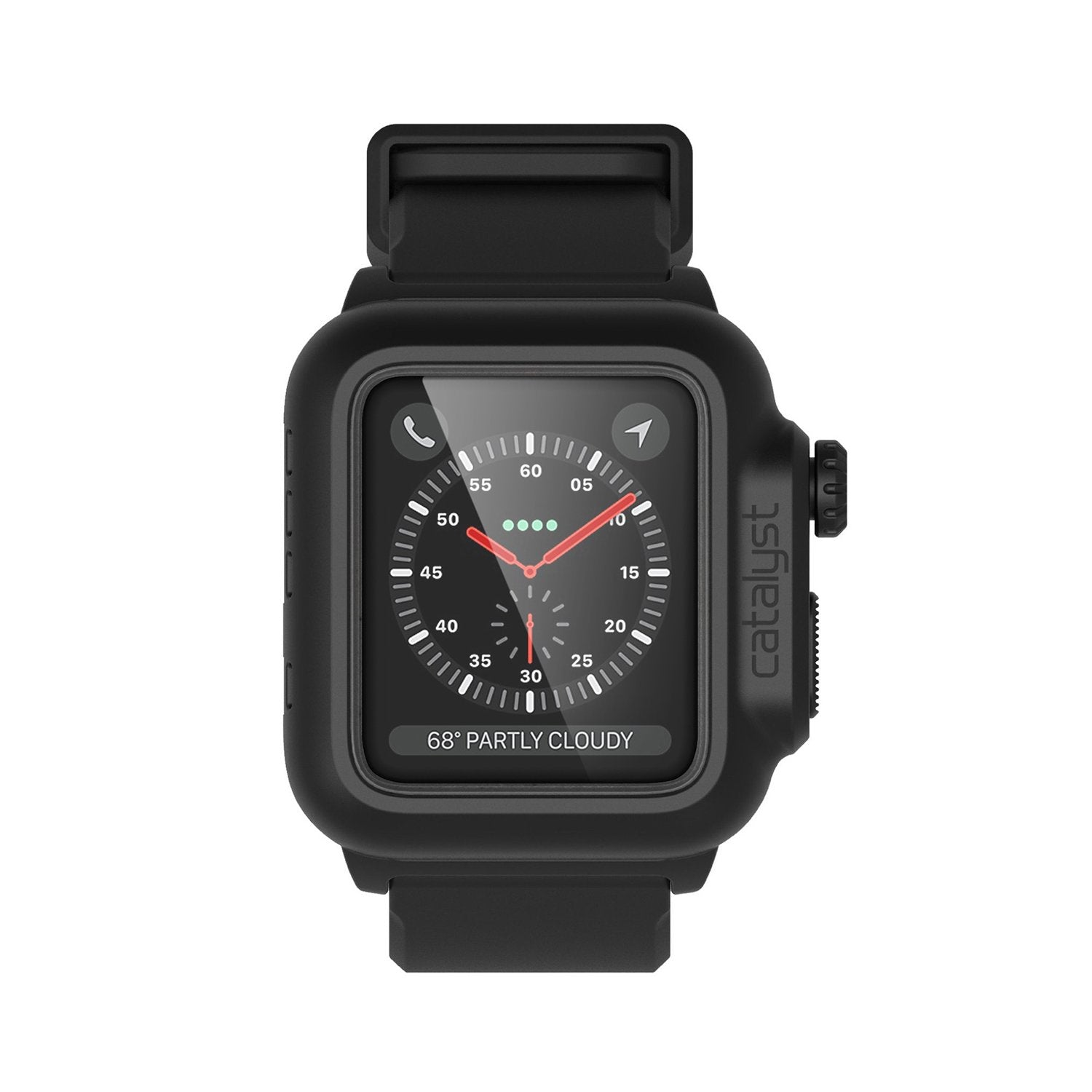 Catalyst Waterproof Case for Apple Watch Series 3/2 for 42mm - Stealth Black