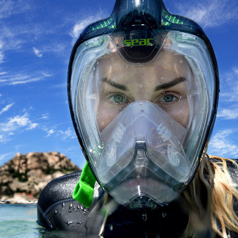 Seac Unica - Premium Full Face Snorkel Mask