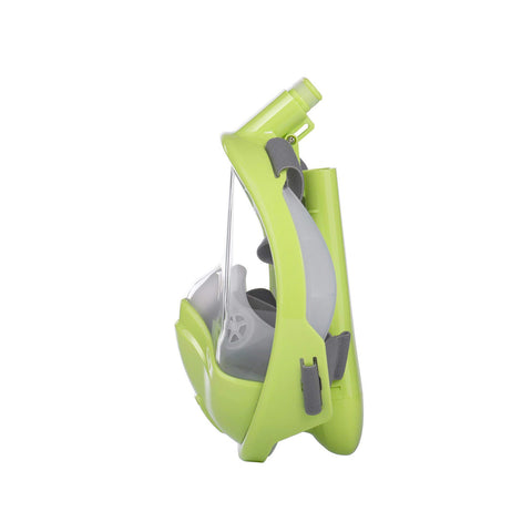 AquaMask III - Full Face Snorkel Mask For Kids (Pastel Green)