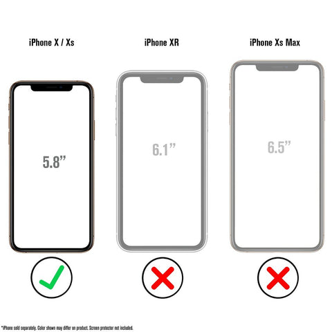 CATALYST Impact Protection Case for iPhone X/Xs - Clear